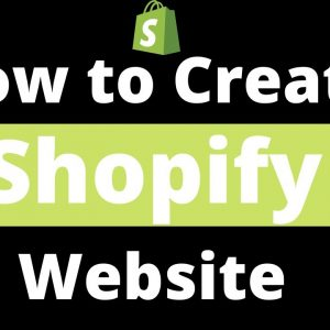 How to Create a Shopify website | Shopify ecommerce Website Designing Tutorial for Beginners 2020