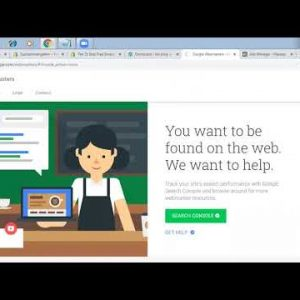 Webmaster Tools Verification   How to Submit Your Website to Google With Webmaster Tools Tutorial