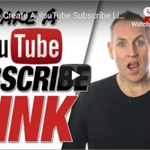 How To Create A YouTube Subscribe Link 2019