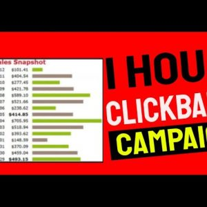 🔥 1 Hour Clickbank Affiliate Marketing Campaign| Step By Step Tutorial 🔥