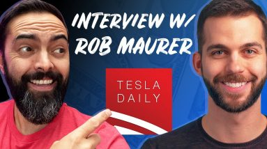 Inside the Business of Tesla Daily with Rob Maurer - Tips on Building a Brand and Starting a Podcast
