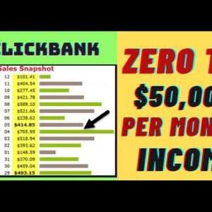 🔥 Make $50,000 P/Month With Clickbank Affiliate Marketing: Step By Step Training: Unique Method 🔥