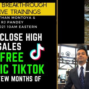 4 Figure Weeks Using TikTok In HIs First Few Months of Starting Affiliate Marketing