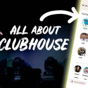 All About Clubhouse! How to Get Started, Join Rooms & Get Followers - Day #302 of The Income Stream