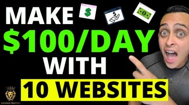 10 Websites To Make $100 Per Day In 2021 - BEST TIPS to Make Money Online