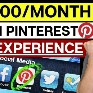 How To Make Money On Pinterest in 2021 For Beginners - Make $10,000/Month!