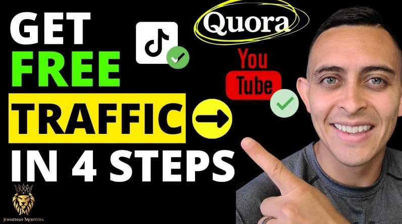 Best Affiliate Marketing Tutorial 2021 - How to Get FREE TRAFFIC