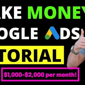 How To Make Money With Google Without Investing Online - Make $1500 to $2000 Per Month