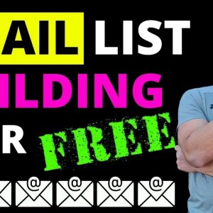 How To Build A FREE Email List For Beginners in 2021 - My Strategy That WORKS