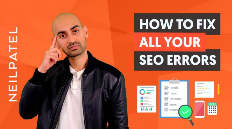 The SEO Checklist - How to Fix All of Your SEO Errors