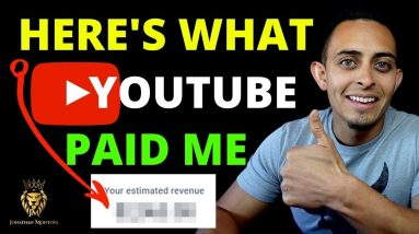 How Much Money Can You Make On YouTube? My YouTube Ad Revenue REVEALED