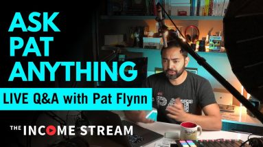 Christmas Eve Ask Me Anything with Pat Flynn - The Income Stream - Day 281