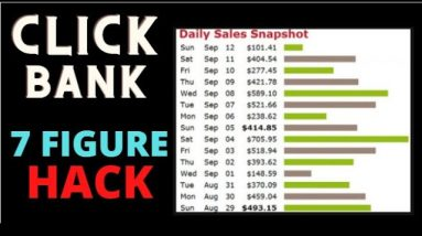 🔥 Clickbank Hack 7 Figure Step By Step: How To Make Money With Clickbank 🔥