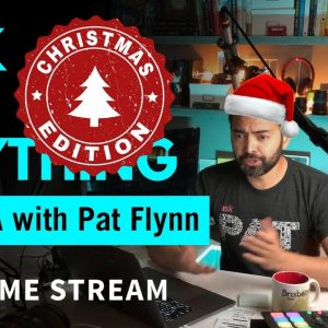 Merry Christmas Ask Pat Special! The Income Stream - Day 282