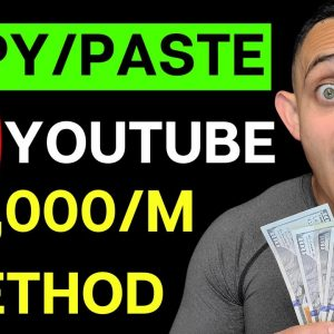 $10,000/Month From Scratch & How To Make Money On YouTube Without Making Videos In 2021 (UPDATED)