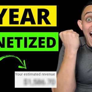 How Much YouTube Paid Me My FIRST YEAR Being Monetized & Revealing How Much YouTube Paid me in 2020