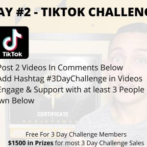 TikTok 10 Day Challenge Day #2 (How to use TikTok For Affiliate Marketing & Clickbank in 2021)