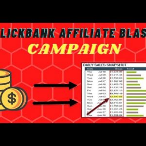🔥 Clickbank Affiliate Marketing Campaign: One Email Blast Using a BRAND NEW Tool 🔥