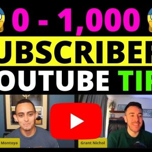 How To Grow A YouTube Channel From Scratch In 2021 - ZERO to 1,000 Subscribers!