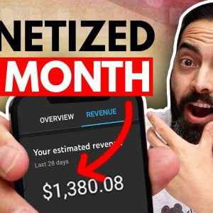 How to Get Monetized on YouTube Fast (1000 Subscribers and 4000 Hours in 1 Month)