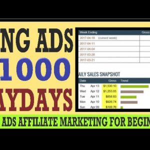 🔥 BING Ads Affiliate Marketing: $1000 Per Day Tutorial - No Website Needed