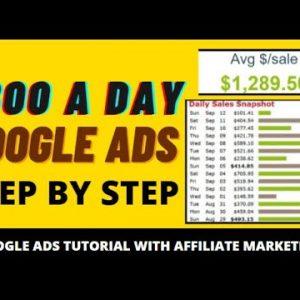 🔥 Clickbank Google Ads Tutorial: $1000 Per Day Affiliate Marketing Method - No Website Needed