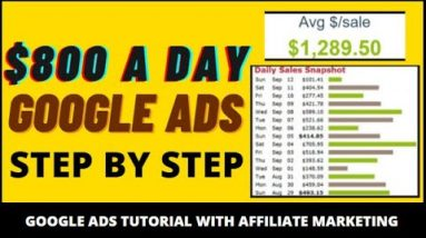 🔥 Clickbank Google Ads Tutorial: $1000 Per Day Affiliate Marketing Method - No Website Needed
