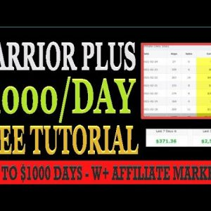 🔥 How To Make Money With Warrior Plus 2021 Step By Step: (Affiliate Marketing Training)
