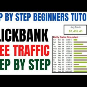 🔥 How To Promote Clickbank Products For FREE: Make $500 Per Day Online - No Website Needed