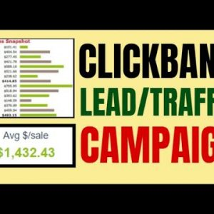 🔥 Clickbank Traffic: Direct Linking Traffic Campaign - Step By Step For Beginners
