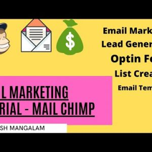 What is Email Marketing | Free Email Marketing Tutorial for Beginners 2021 Latest Video | Mail Chimp
