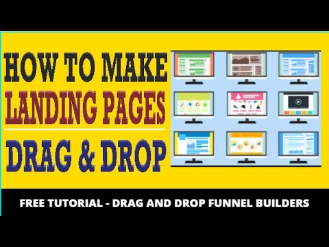 🔥 How To Make a Landing Page - High Converting Landing Page Builder Using Drag & Drop Creators
