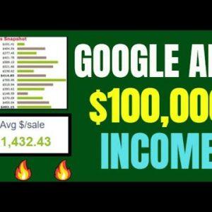 🔥 Google Ads Tutorial For Beginners: Side Hustle Income - BRAND NEW Hack Method