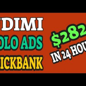 🔥 Udimi Solo Ads Clickbank: How To Make $282 In Clickbank Commissions In 24 Hours