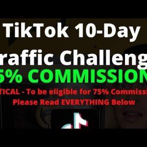 TIKTOK CHALLENGE MONDAY! 75% COMMISSIONS. HERE'S HOW