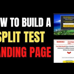 🔥 Clickfunnels Tutorial: How To Split Test 2 Different Landing Pages & Select The Winner