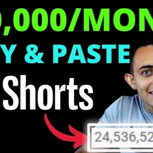 $10,000/Month By Copy & Paste YouTube Shorts In 2021