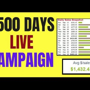 🔥 Easy $500 Days Campaign | Clickbank Make Money Live |  🔥