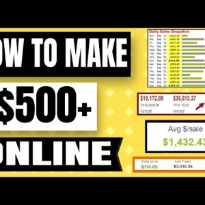 🔥 How To Make $500 a Day Online - Affiliate Marketing - NO Website Needed (Google Ads Tutorial)