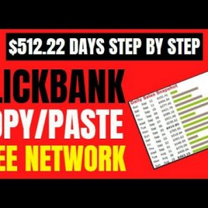 🔥 Clickbank Copy Paste FREE Method: $500 Days From Home - Direct Linking Ad Network