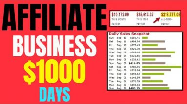 How To Start a $1000 Day Clickbank Affiliate Marketing Business (No Website Needed)