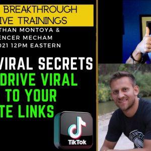 TikTok Viral Secrets (How To Go Viral on TikTok) with Spencer Mecham