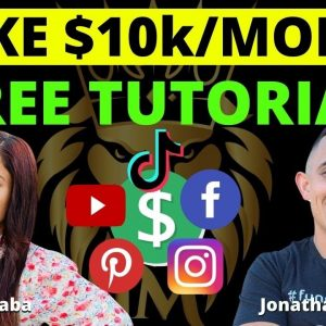 How To Make $10000 Per Month Online - FREE AFFILIATE MARKETING TUTORIAL with Yamini Gaba