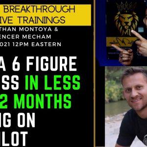 Build 6-figure Affiliate Businesses in less than 12 months (RUNS ON AUTOPILOT)