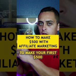 Best way to make $500 online #shorts