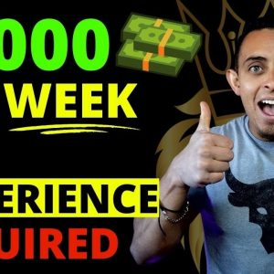 How To Make $1000 Per Week - 7 BEST Work From Home Jobs In 2021