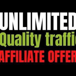 How To Get Quality Unlimited Buyer Traffic To Any Clickbank Affiliate Link