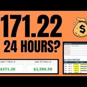 Zero To $171.22 In 24 Hours | Clickbank Affiliate Commission | Unlimited Traffic Revealed