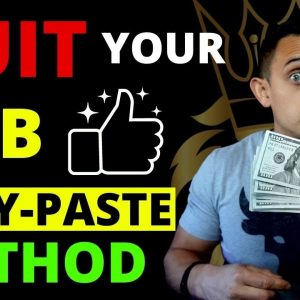 Copy & Paste Challenge That Made $137k In 6 Months - How To Make Money Online And Quit Your Job