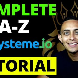 Systeme.io Tutorial - FREE Complete Tutorial Make Money Online With Systeme.io